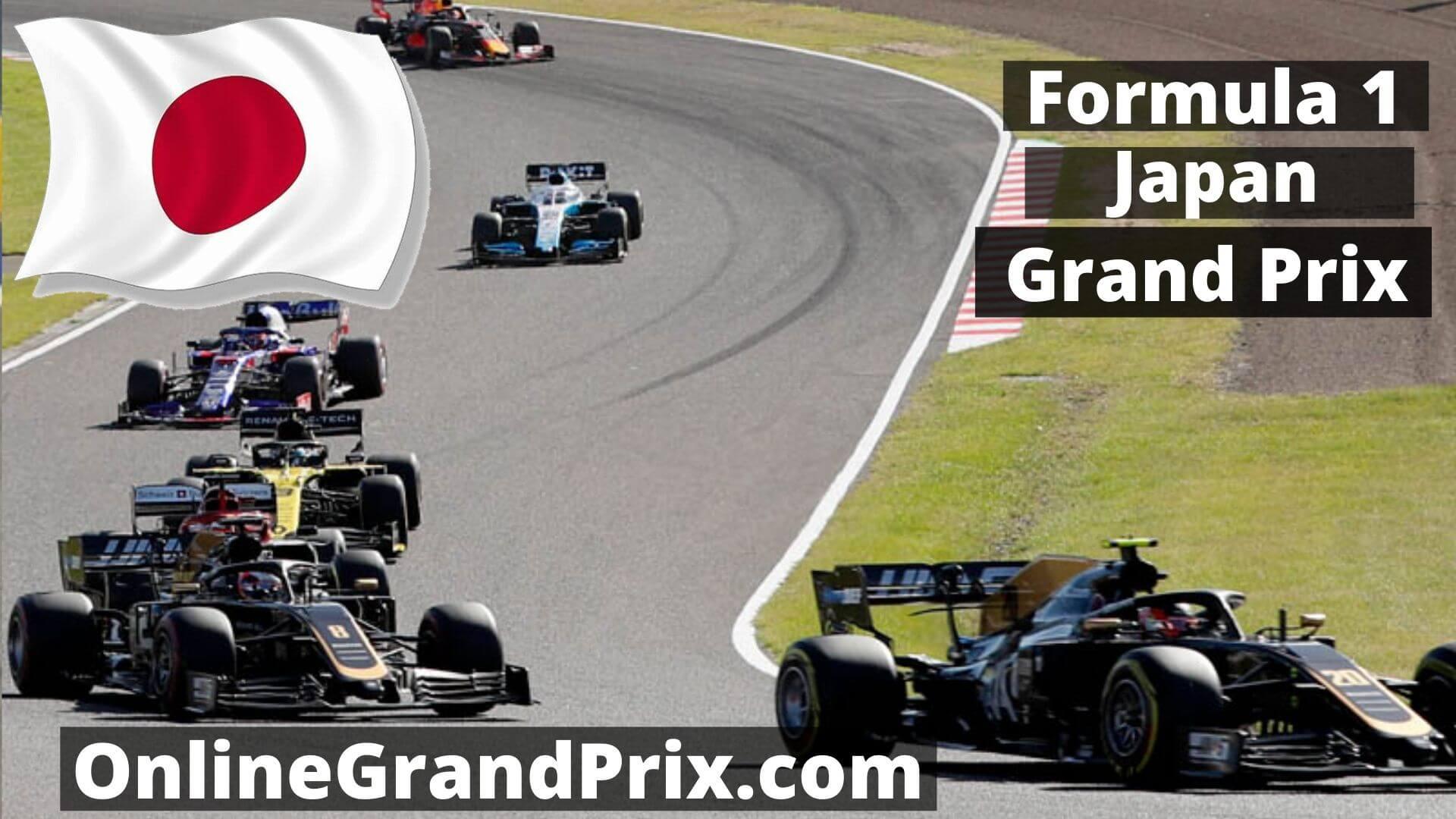 F1 Practice 1 Japan GP  Live Stream 2020