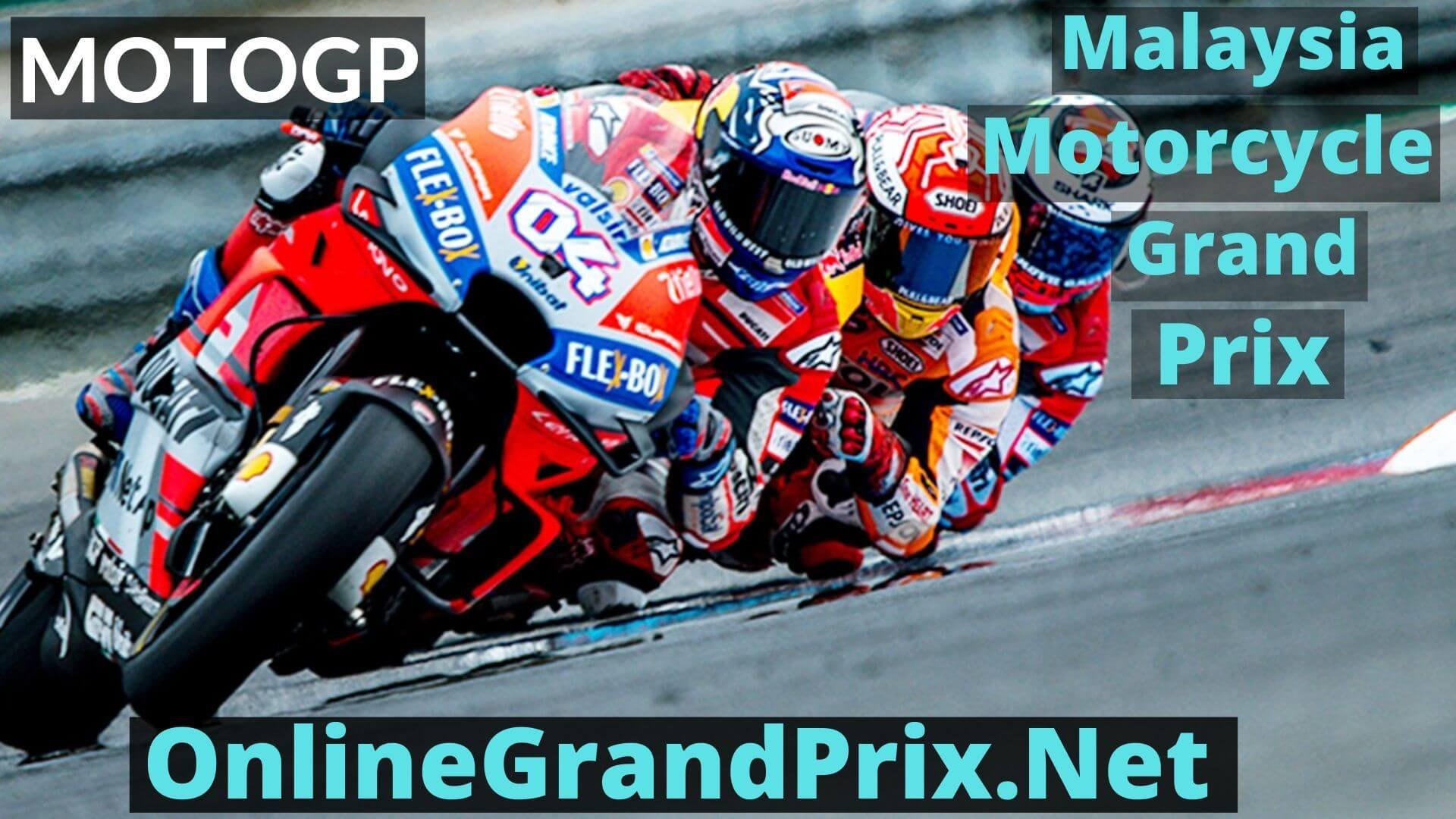 Malaysia Motorcycle Grand Prix Live Stream 2020 | MotoGP