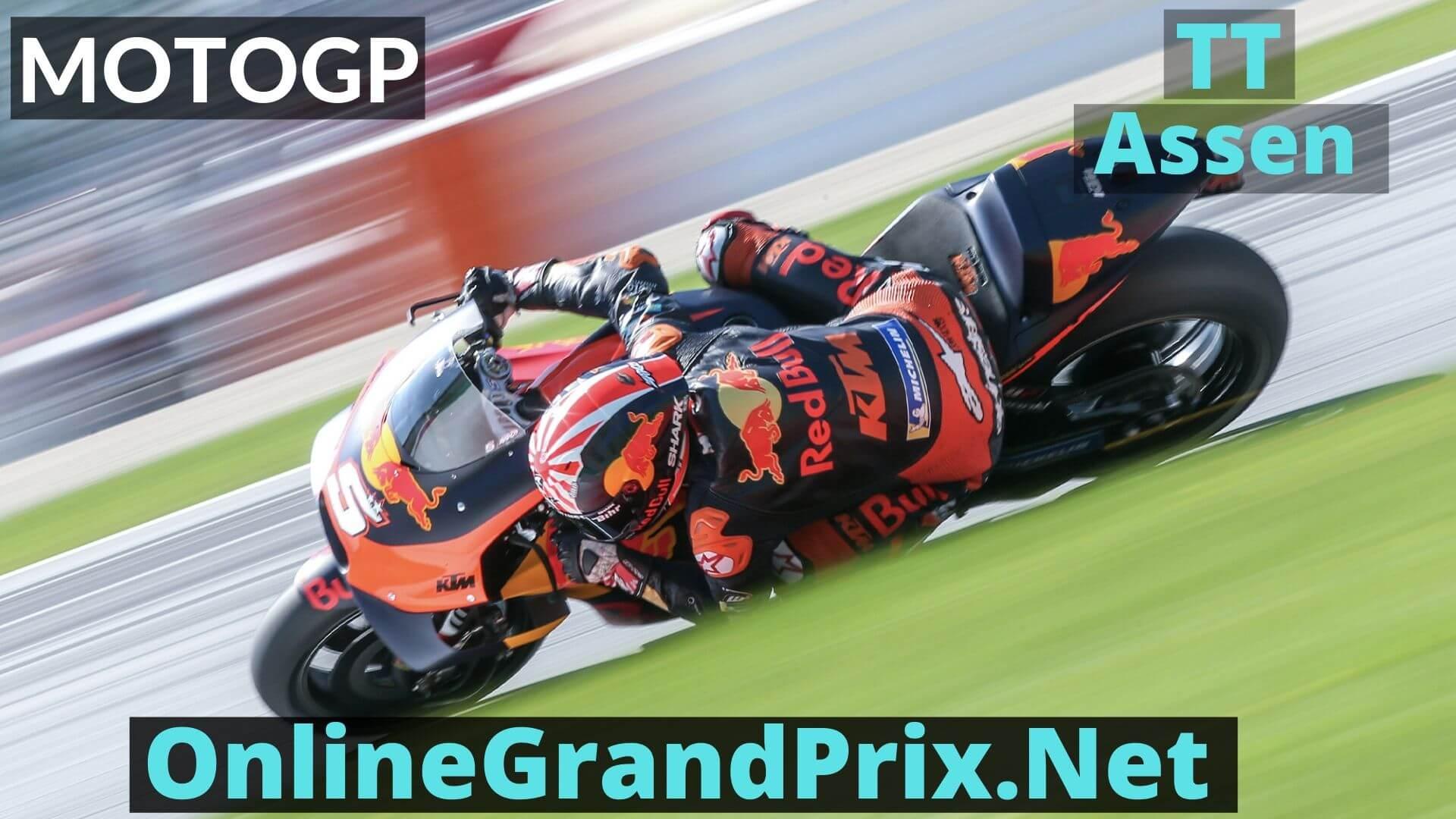TT Assen Live Stream 2020 | MotoGP