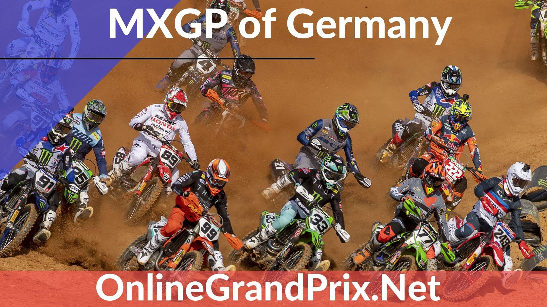 Germany MXGP Live Stream 2020 | FIM MotoCross WC