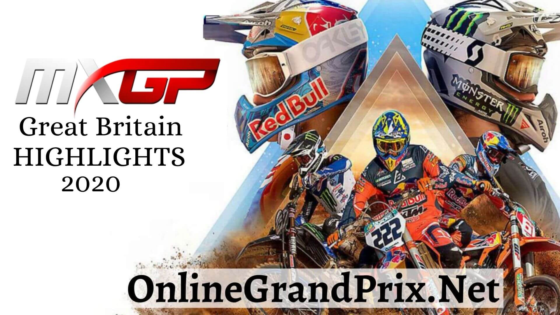 MXGP of Great Britain Highlights 2020