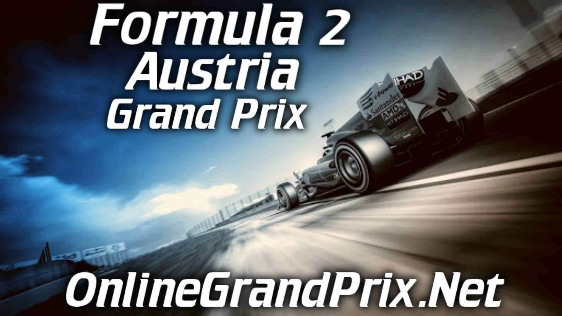 Austria F2 Grand Prix Live Stream 2020 | Race 2: Full Race Replay
