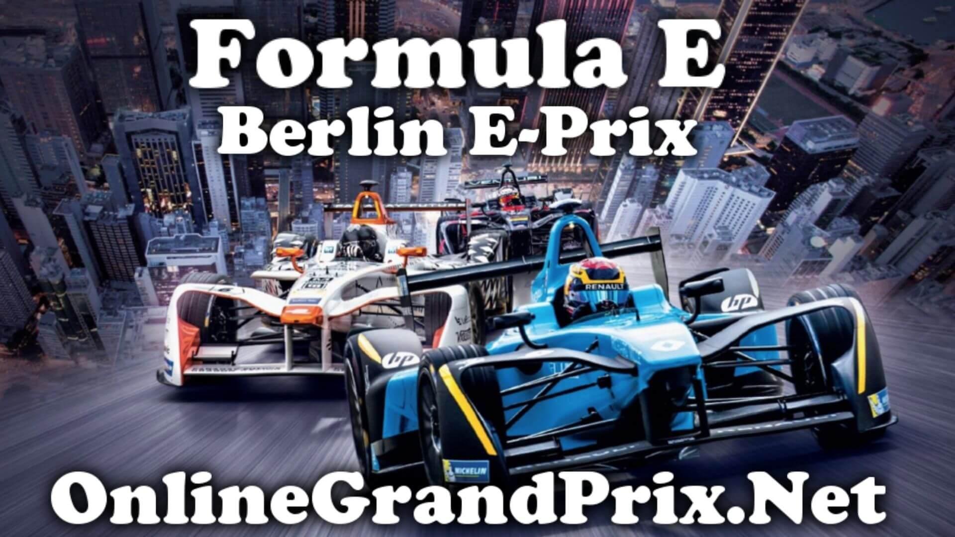 Berlin EPrix FE Live Stream 2020 | Full Race Replay