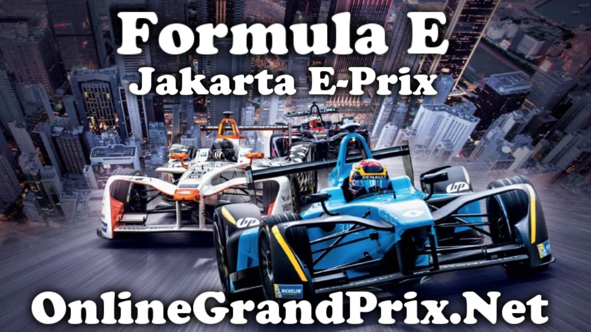Jakarta EPrix FE Live Stream 2020 | Full Race Replay