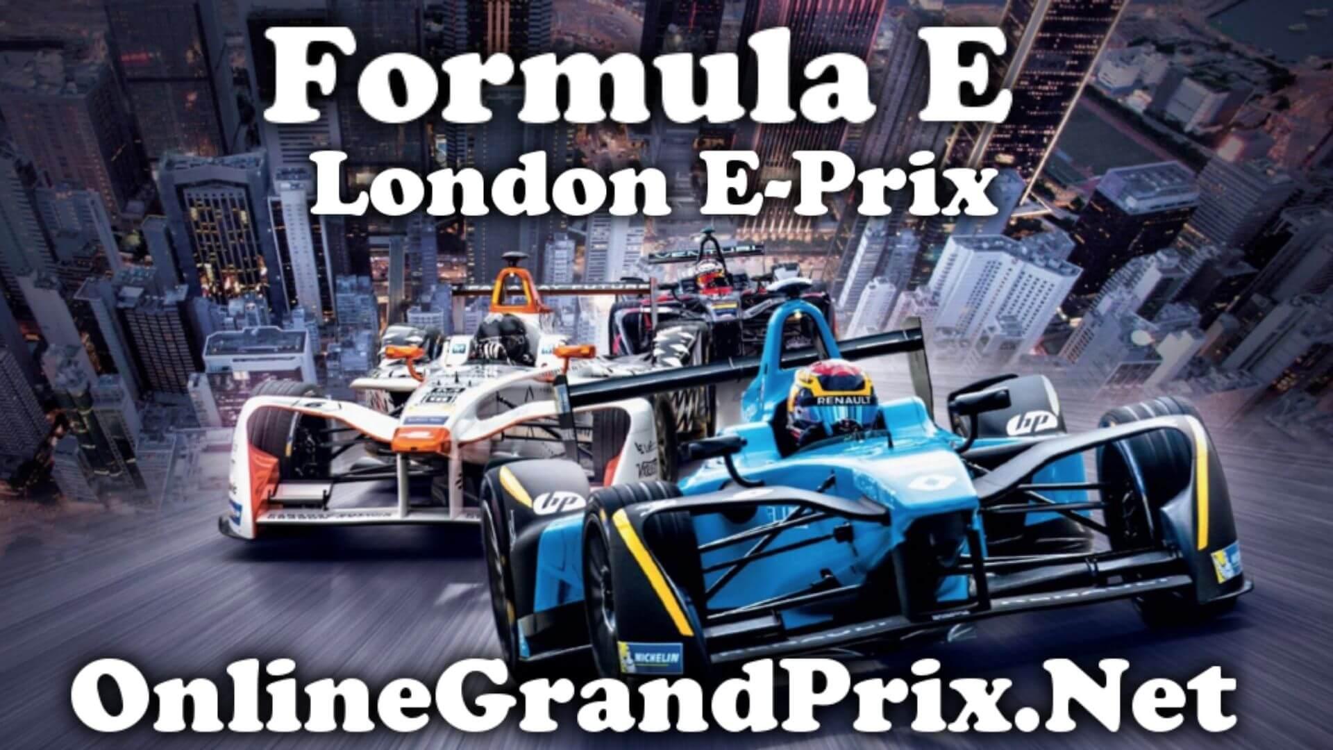 London EPrix FE Live Stream 2020 | Full Race Replay