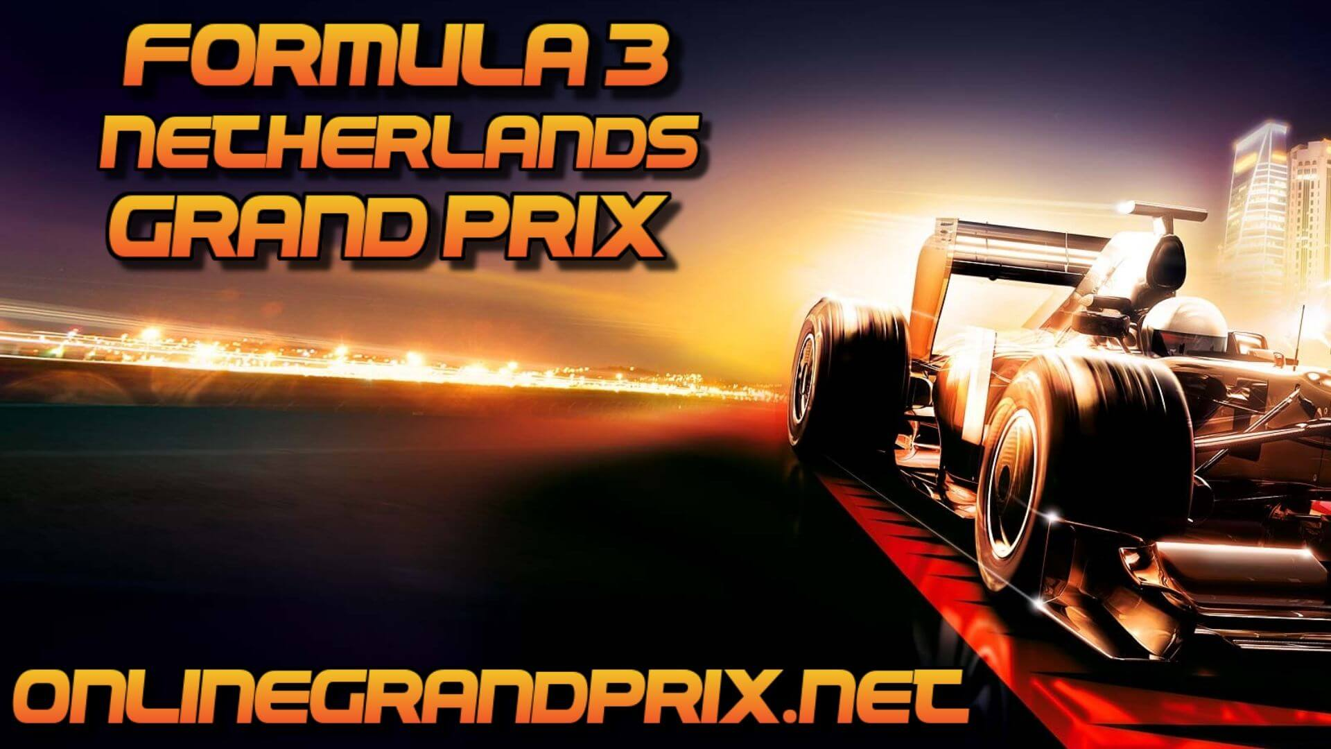 Netherlands F3 Grand Prix Live Stream 2020 | Race 1:Full Race Replay