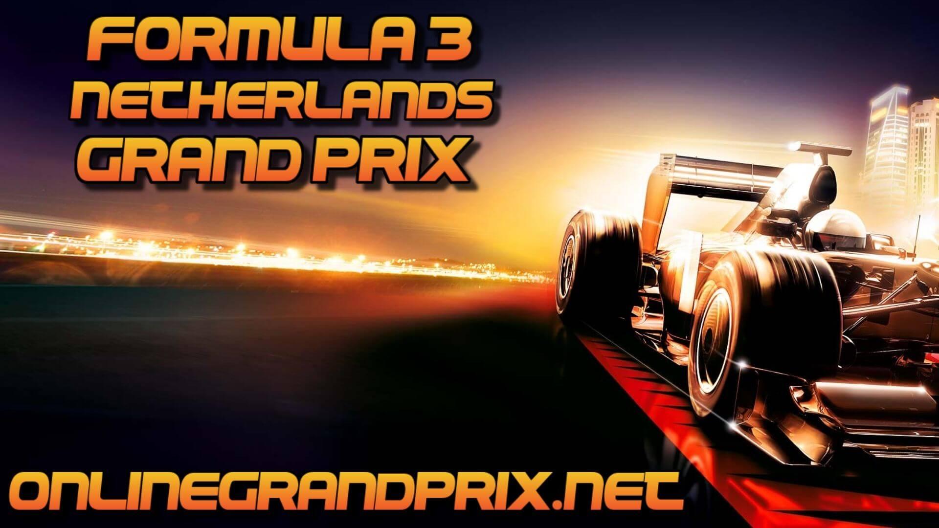 Netherlands F3 Grand Prix Live Stream 2020 | Race 2: Full Race Replay