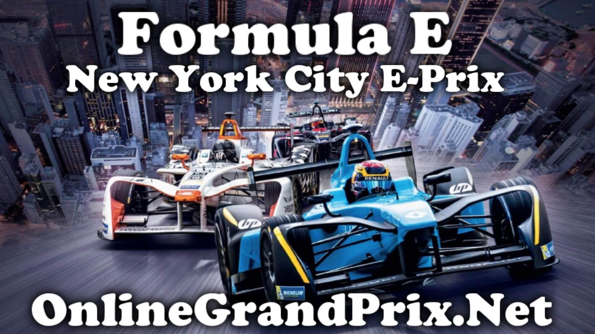 New York City EPrix FE Live Stream 2020 | Full Race Replay