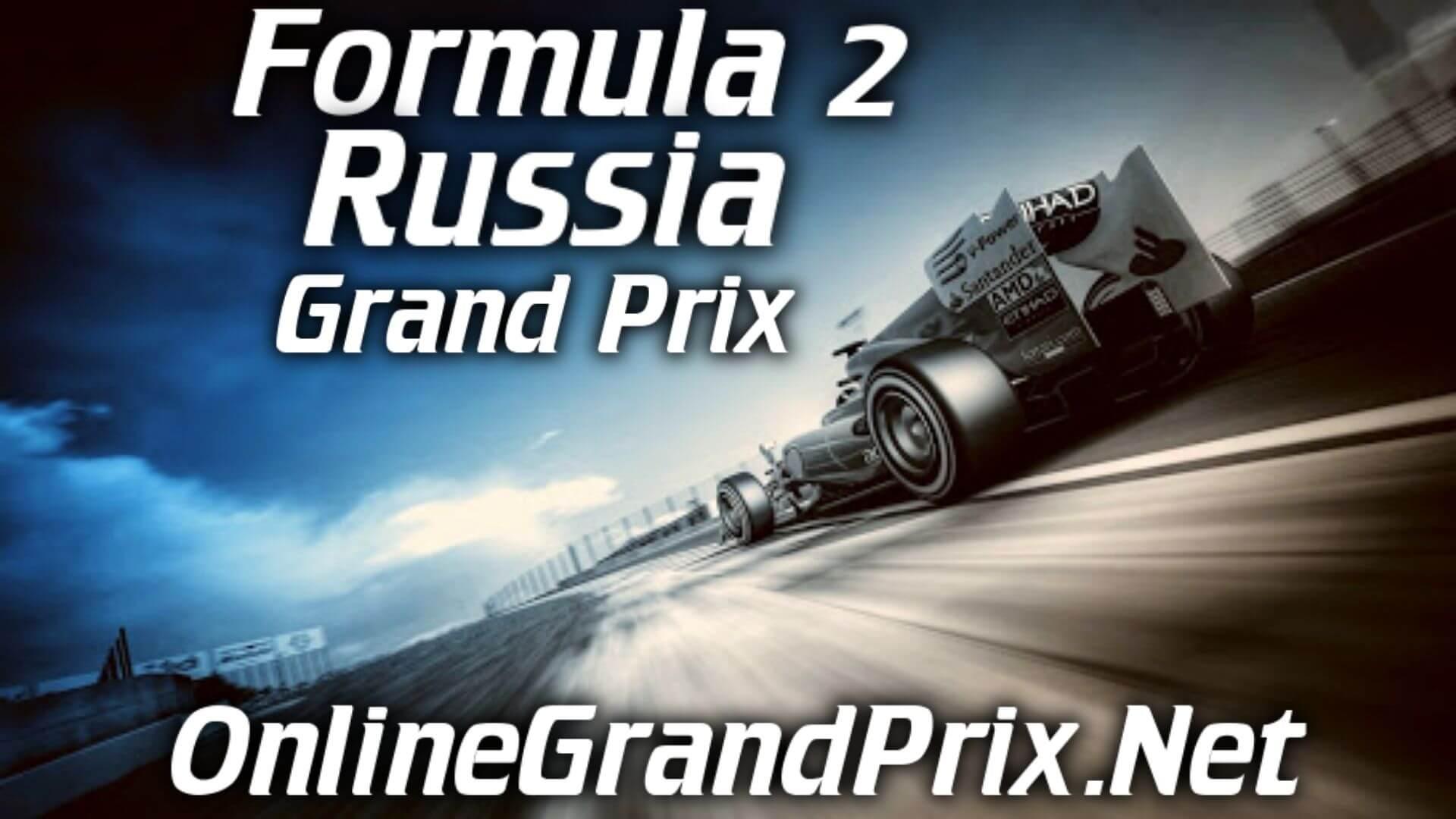 Russia F2 Grand Prix Live Stream 2020 | Race 2: Full Race Replay