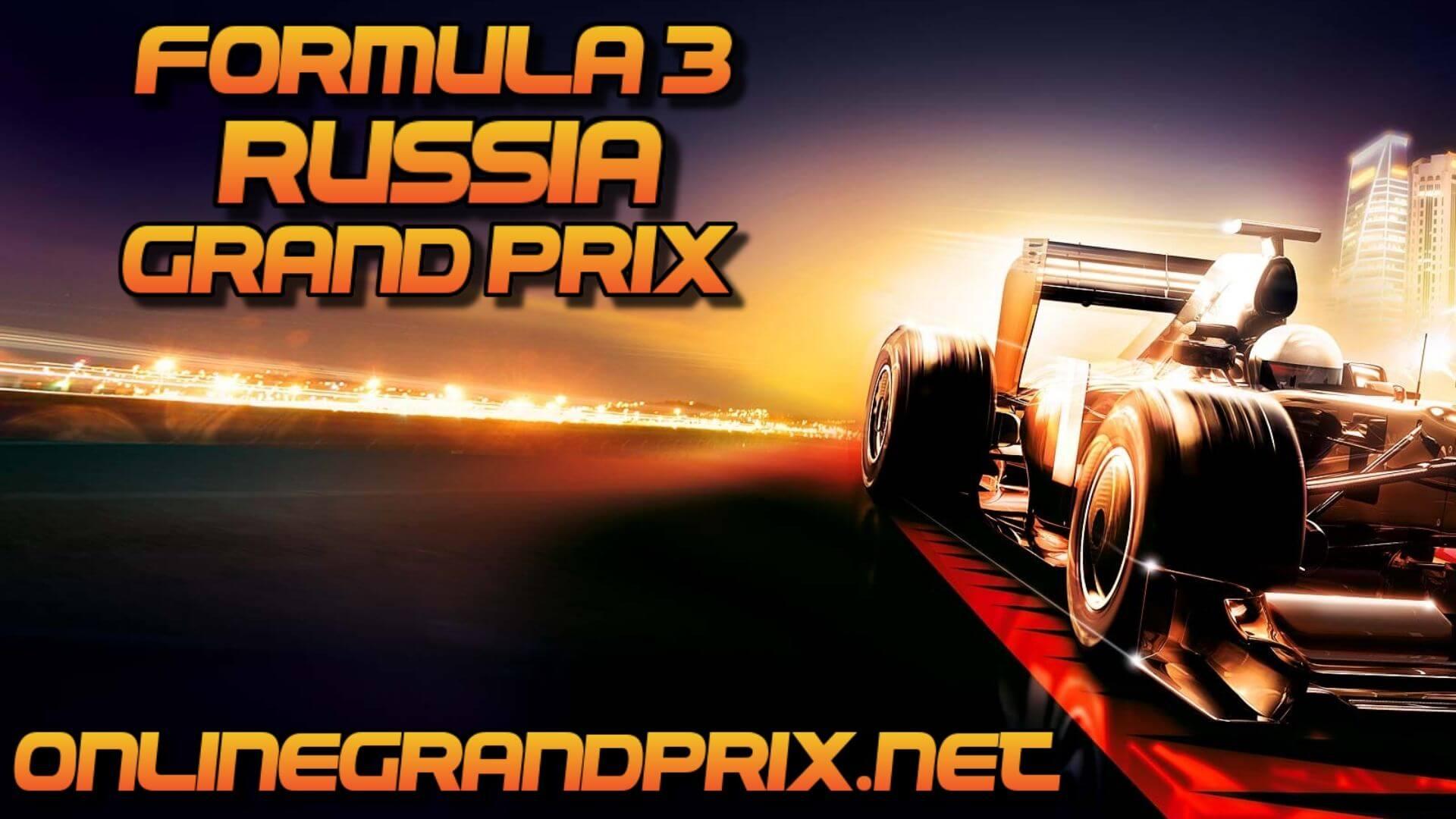Russia F3 Grand Prix Live Stream 2020 | Race 1:Full Race Replay