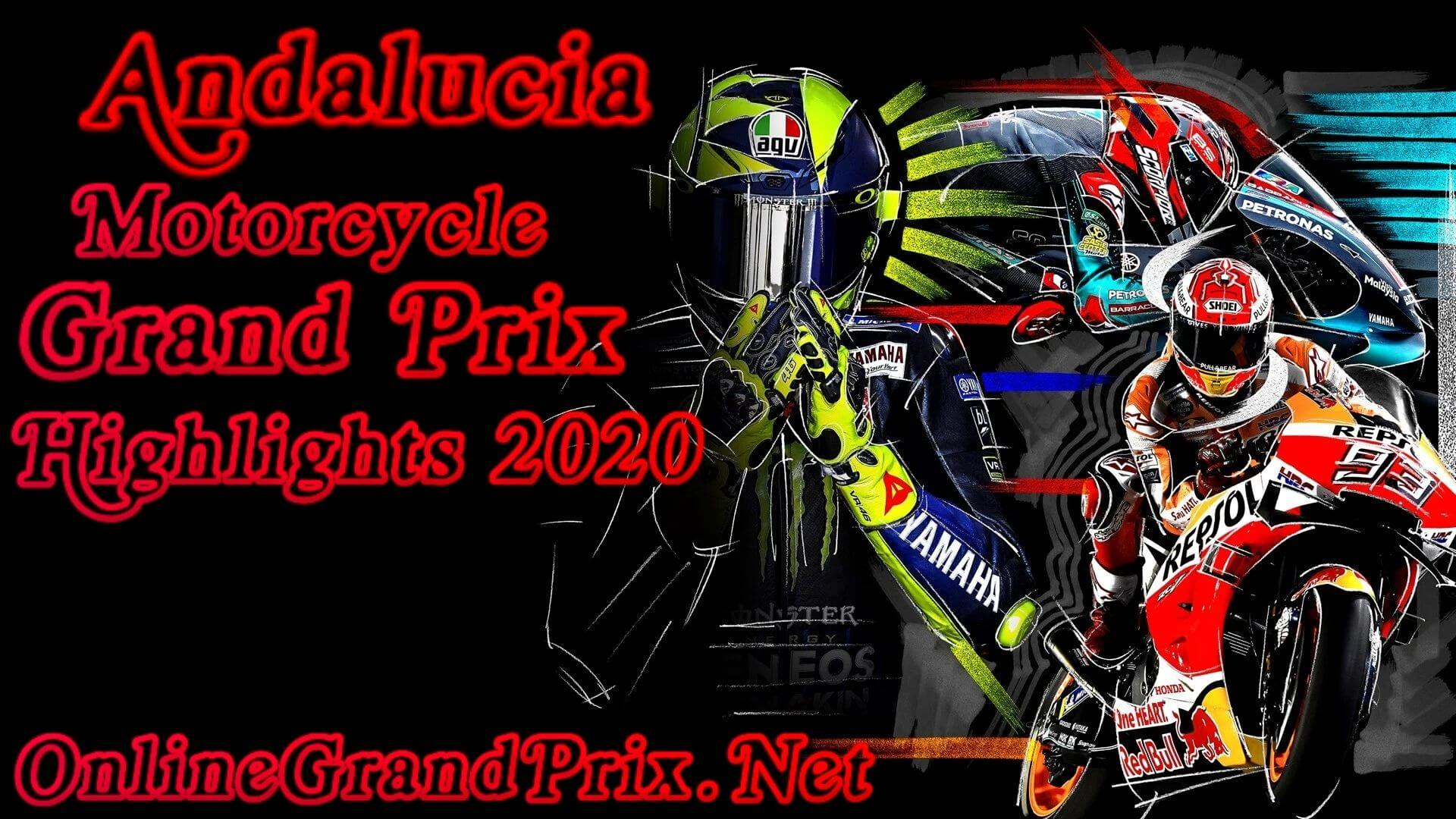 Andalucia MotoGP Highlights 2020