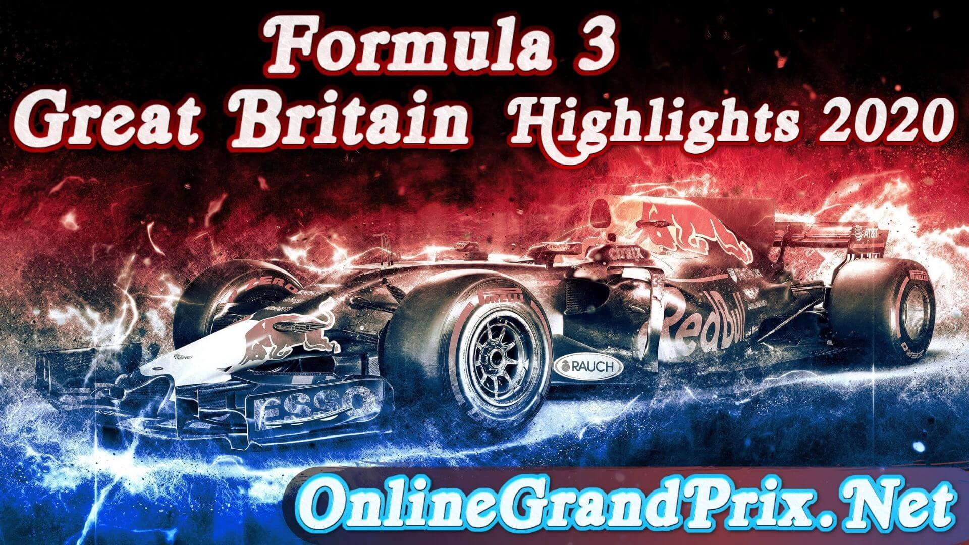 Great Britain GP F3 Highlights 2020