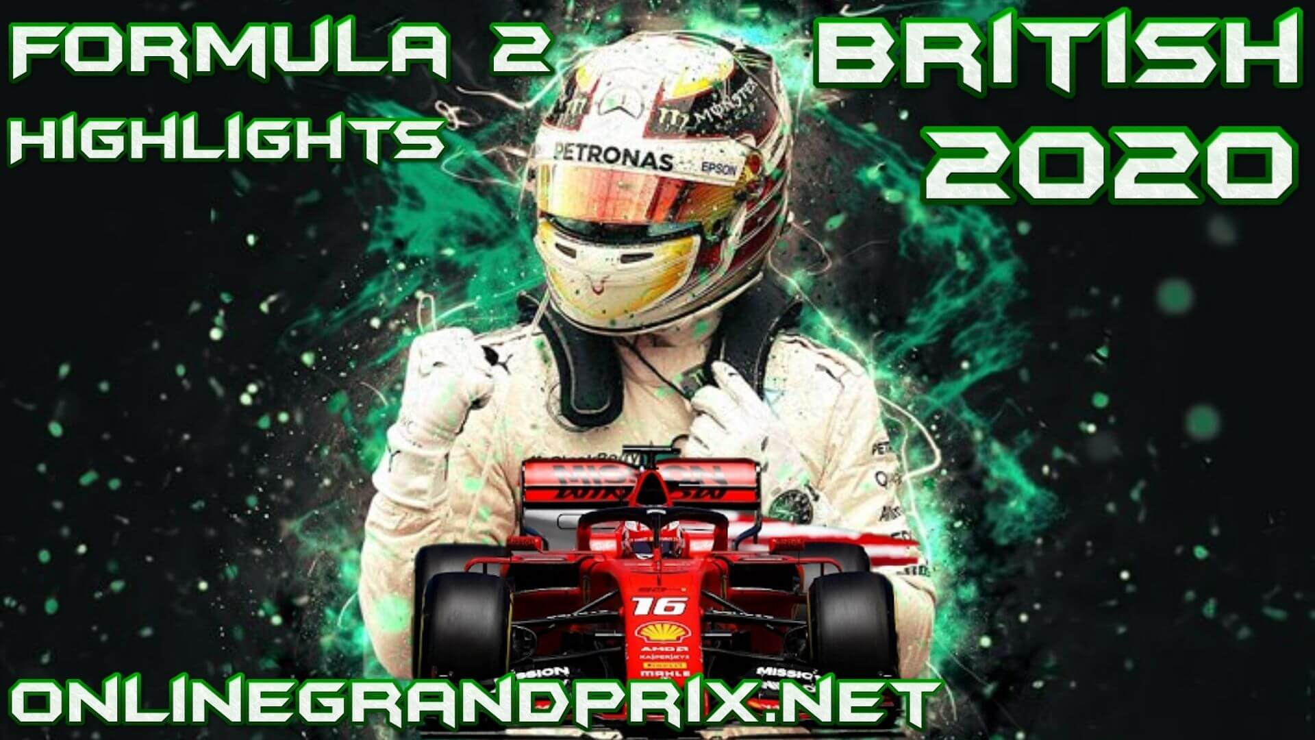 British GP F2 Highlights 2020