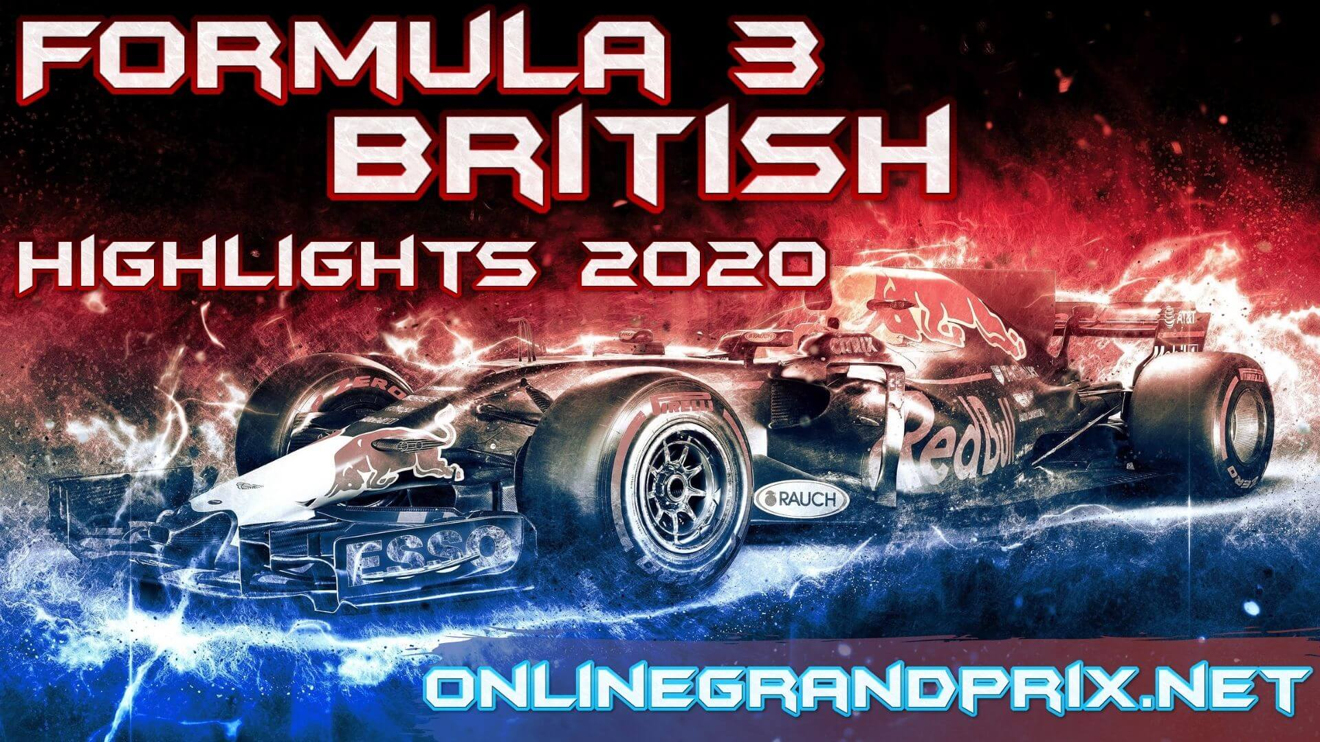 British GP F3 Highlights 2020