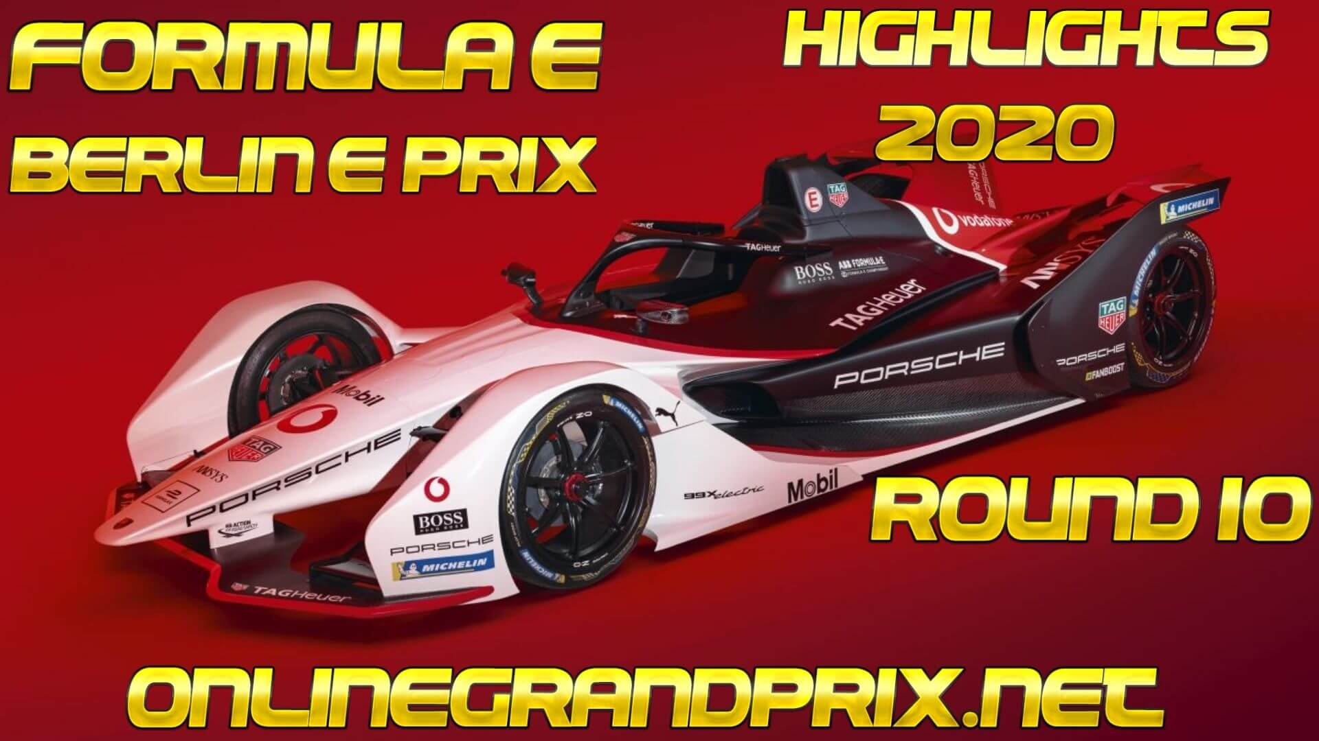 Berlin E Prix Formula E Highlights 2020 Round 10