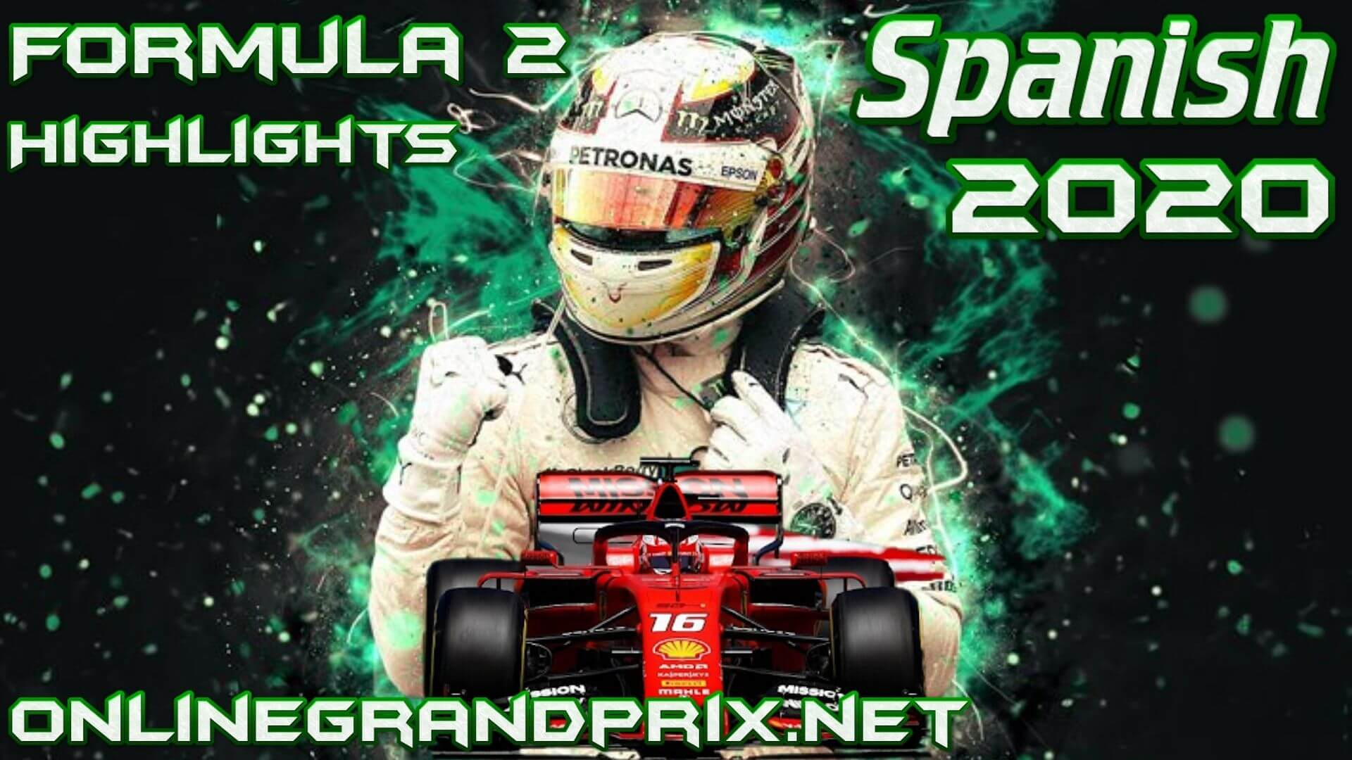 Spanish GP F2 Highlights 2020