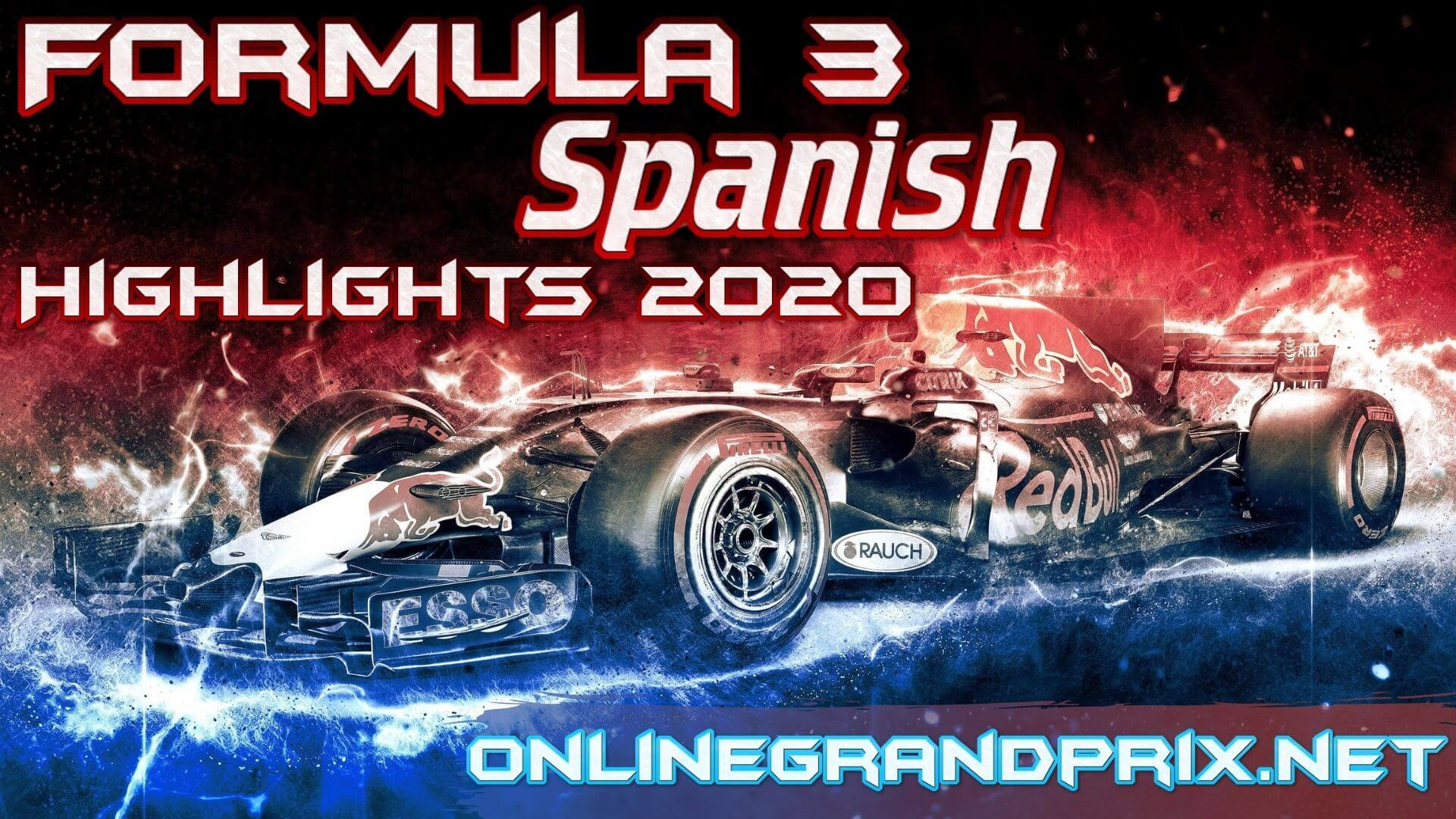 Spanish GP F3 Highlights 2020