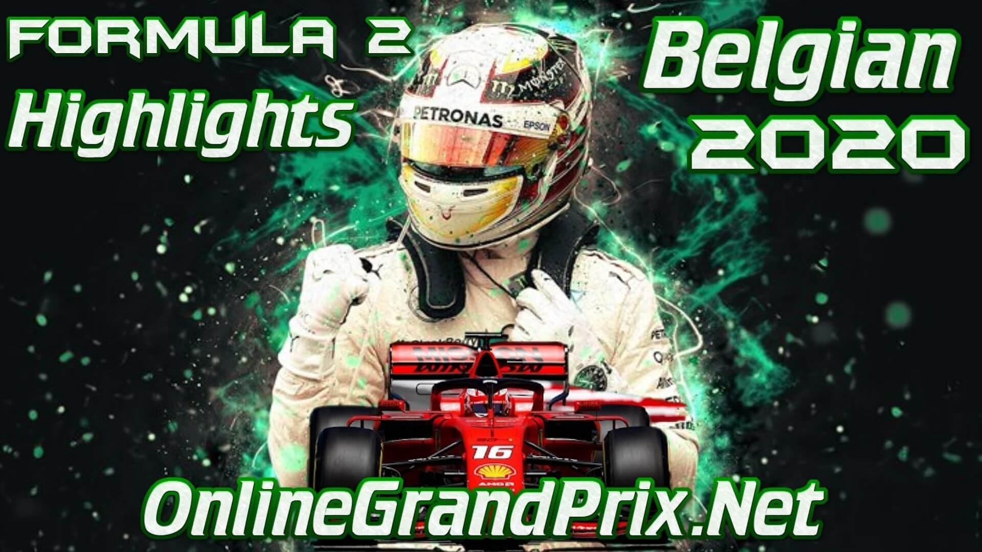 Belgian GP F2 Highlights 2020