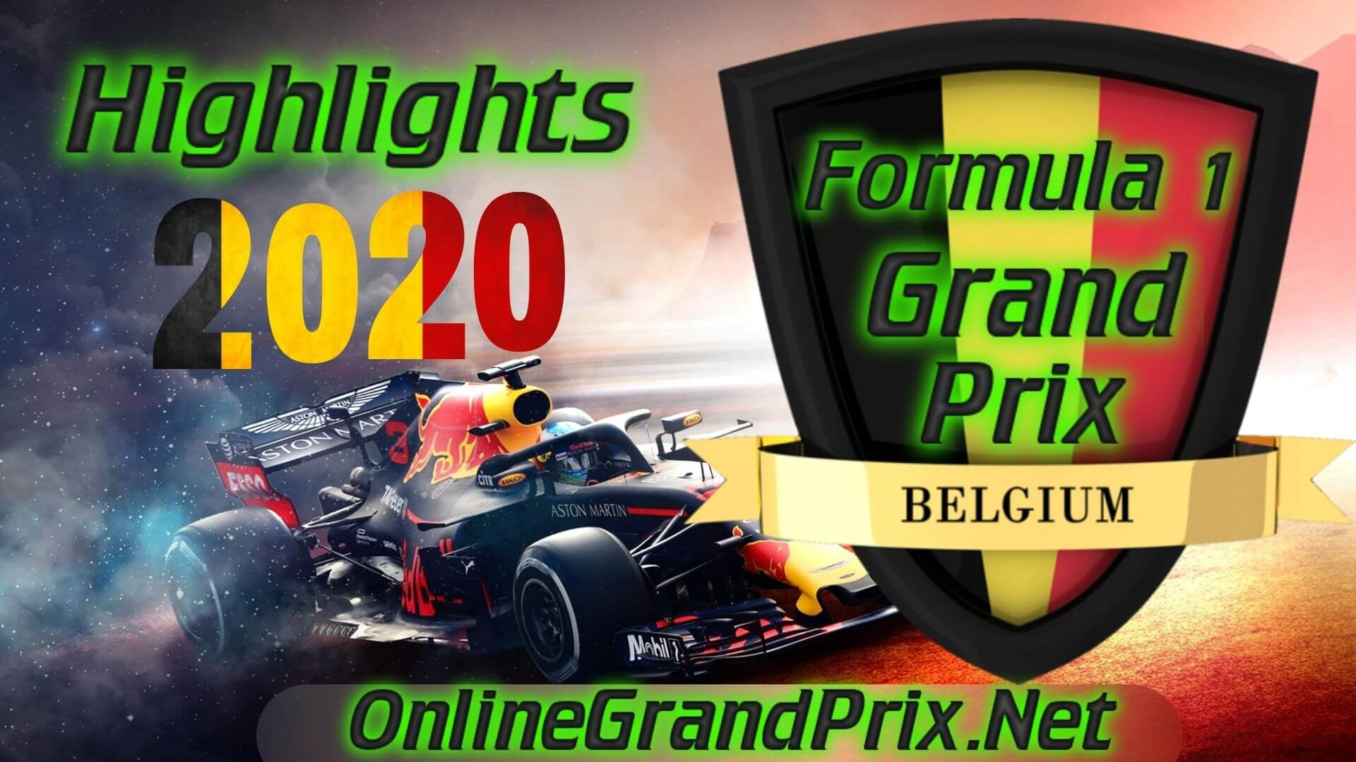 Belgium GP F1 Highlights 2020