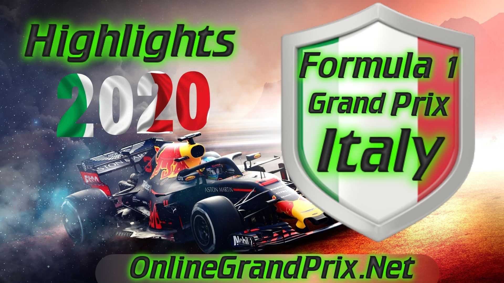 Italy GP F1 Highlights 2020