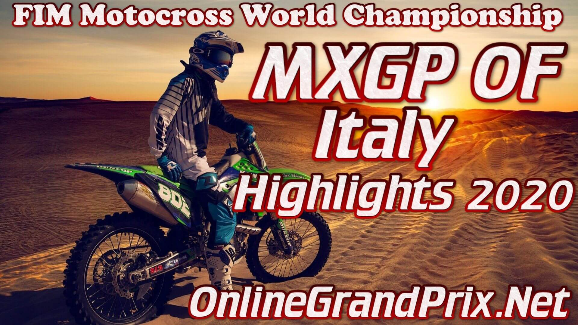 MXGP of Italy Highlights 2020