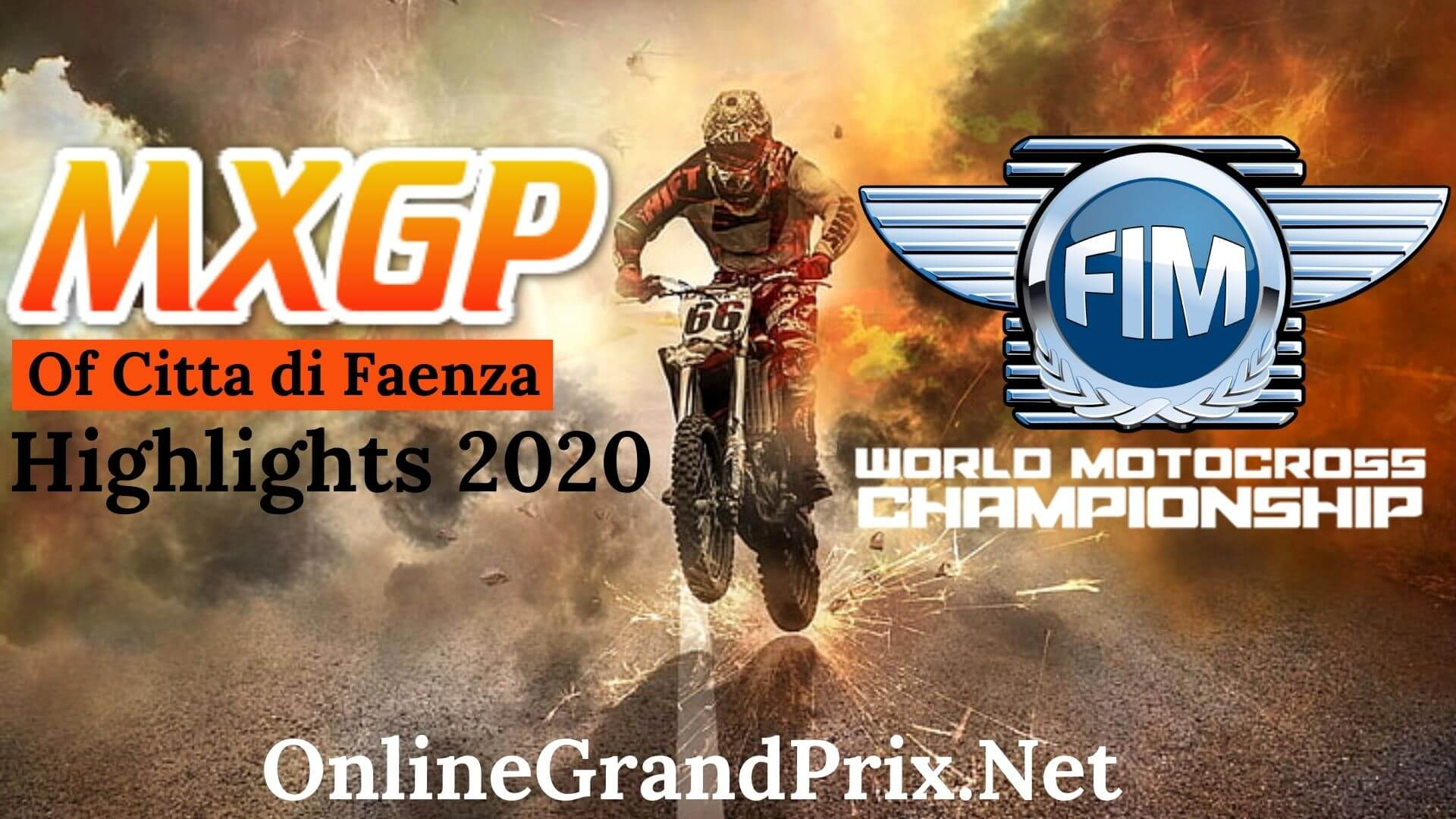 MXGP of Citta di Faenza Highlights 2020