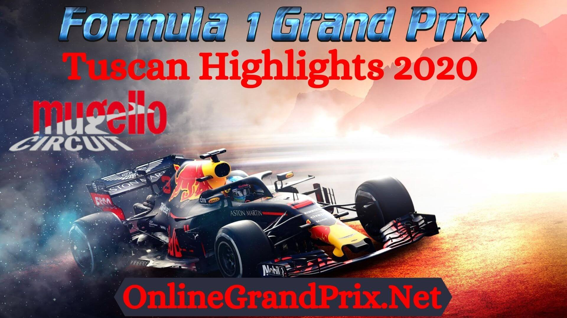 Tuscan GP F1 Highlights 2020