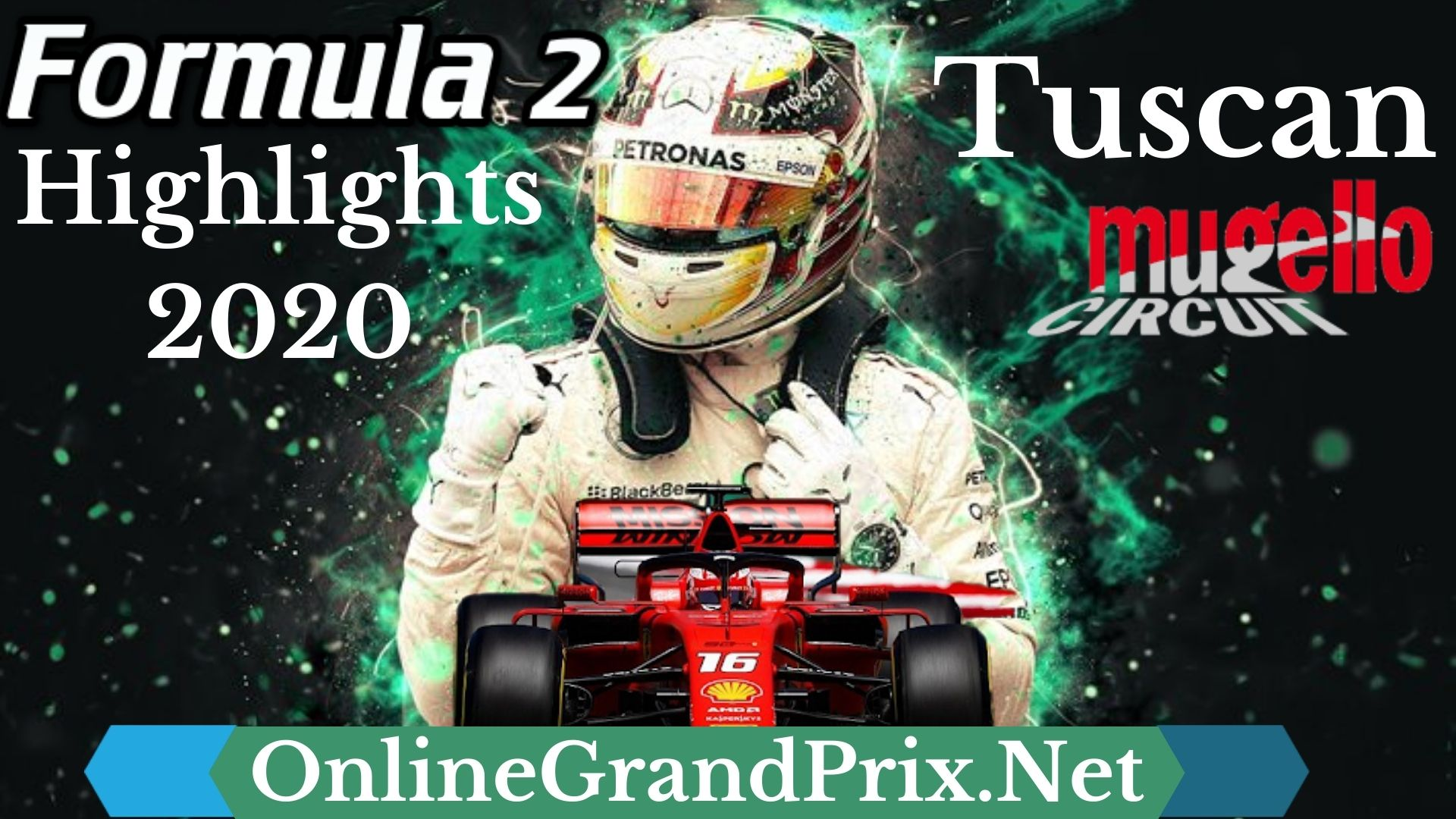 Tuscan GP F2 Highlights 2020