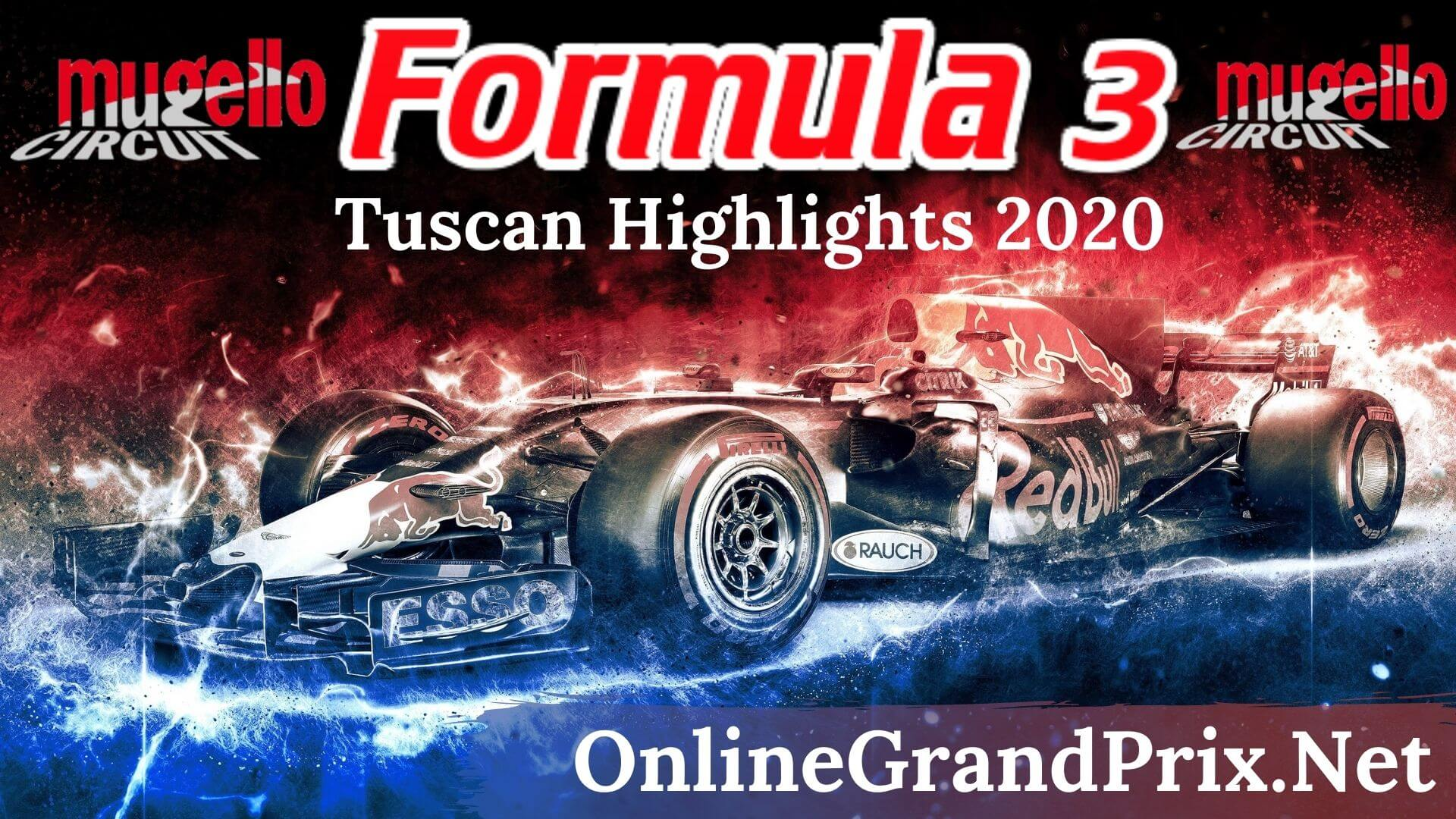 Tuscan GP F3 Highlights 2020