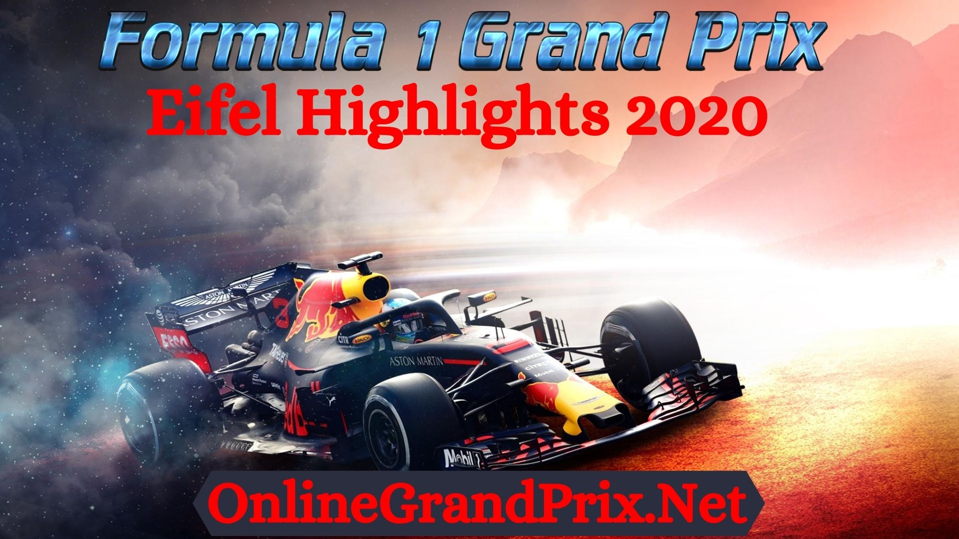 Eifel GP F1 Highlights 2020