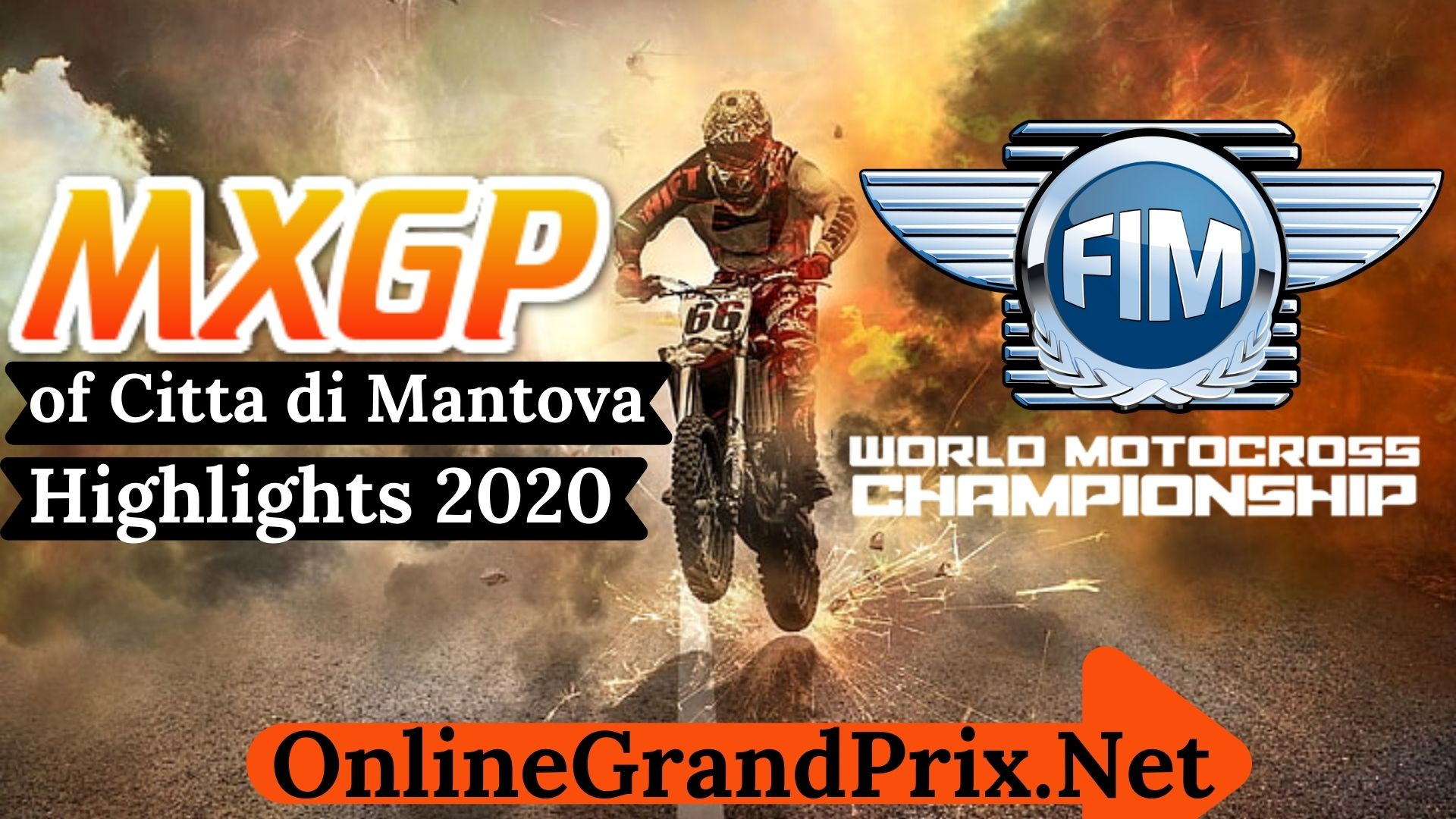 MXGP of Citta Di Mantova Highlights 2020