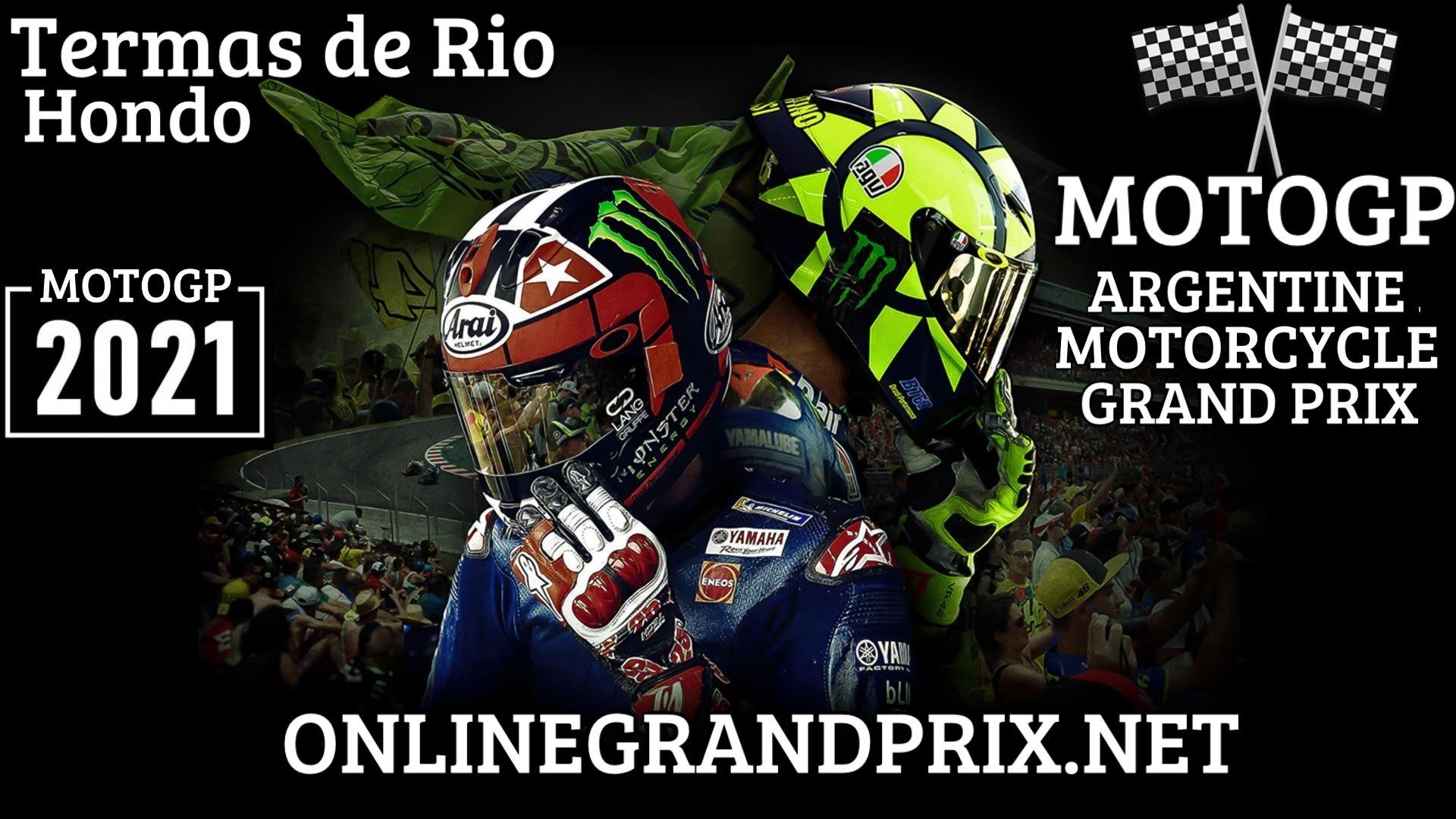 Argentine MotoGP Live Stream 2021 | Full Race Replay