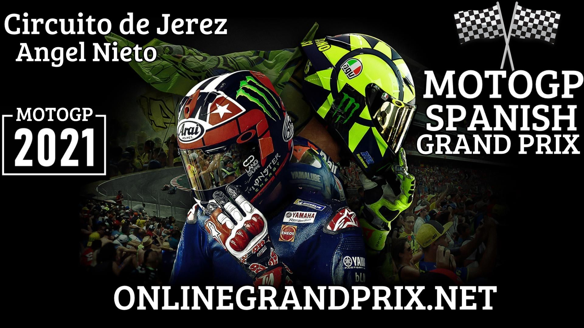 Spanish MotoGP Live Stream 2021   Full Race Replay