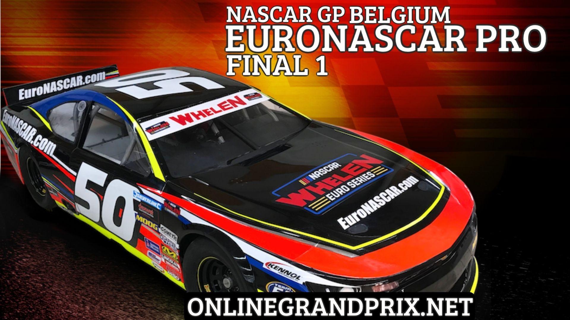 Belgium NASCAR GP Live Stream 2021 | Euro NASCAR PRO Final 1