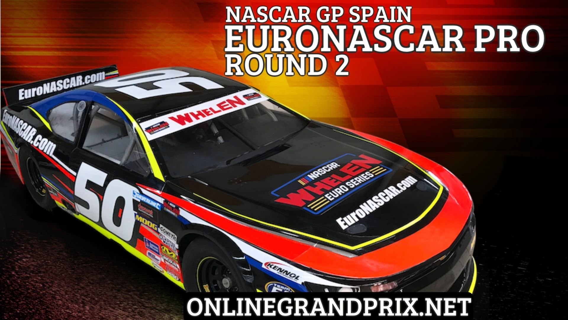 Spain NASCAR GP Live Stream 2021   Euro NASCAR PRO RD 2