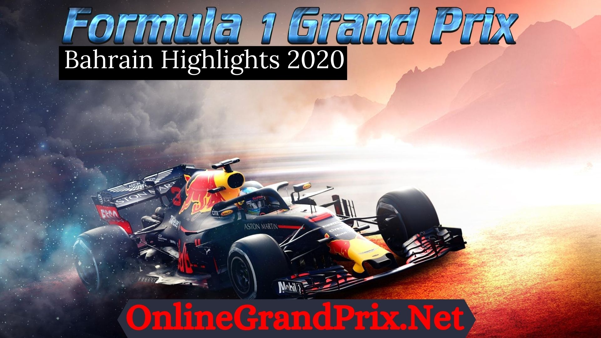 Bahrain GP F1 Highlights 2020