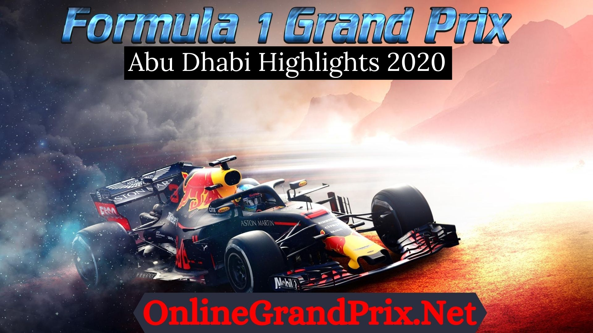 Abu Dhabi GP F1 Highlights 2020