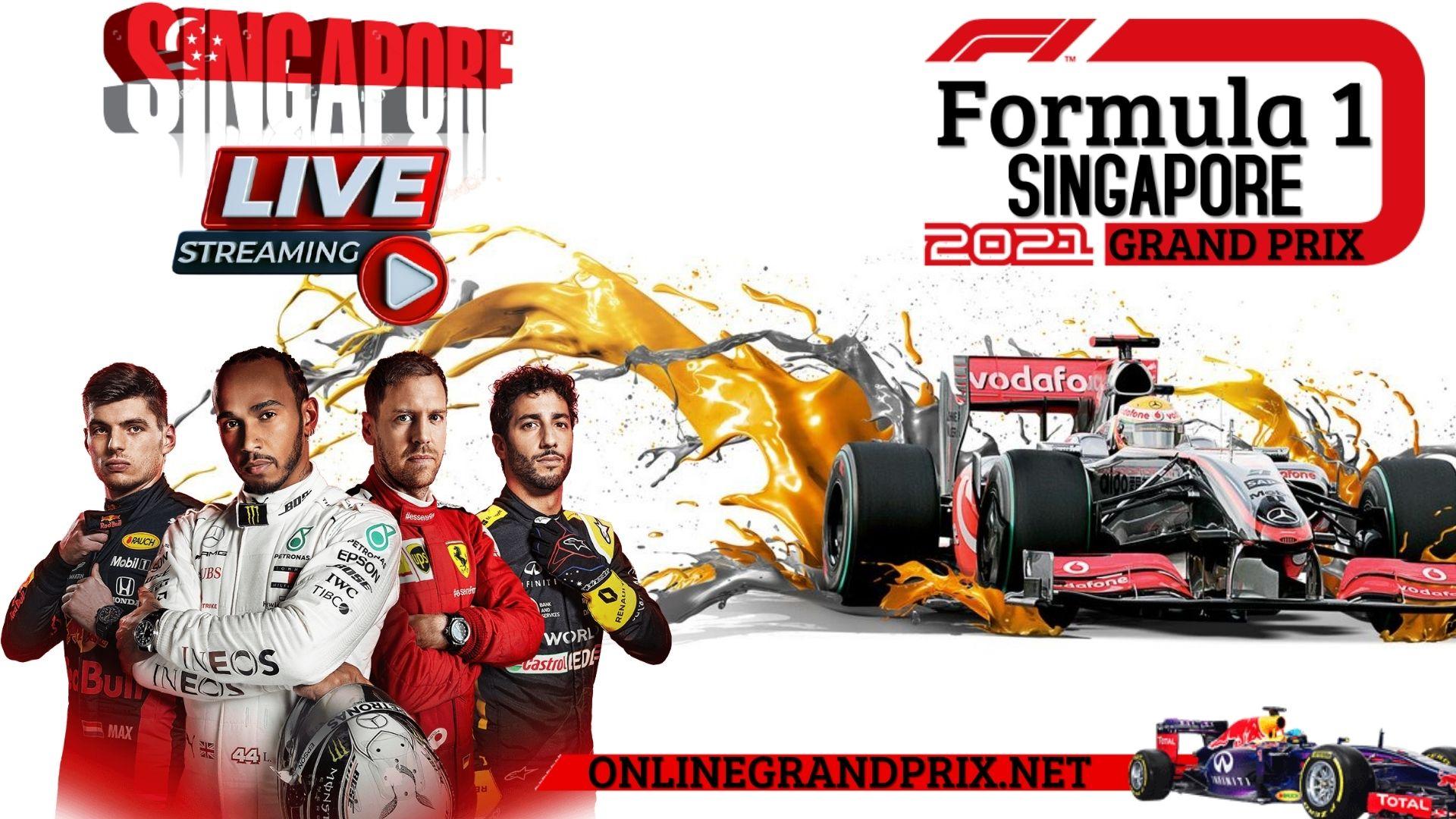 F1 Singapore GP Live Stream 2021 | Full Race Replay