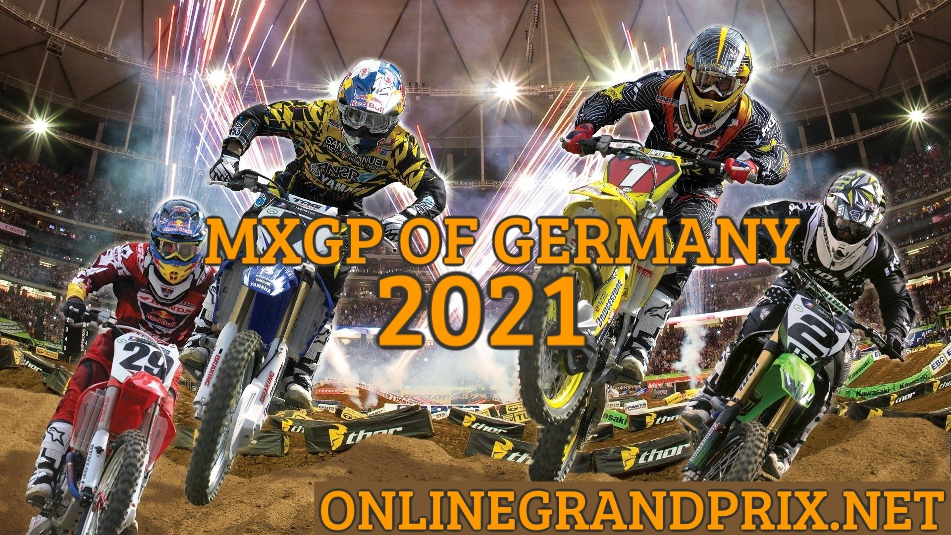 Germany MXGP Live Stream 2021 | FIM MotoCross WC