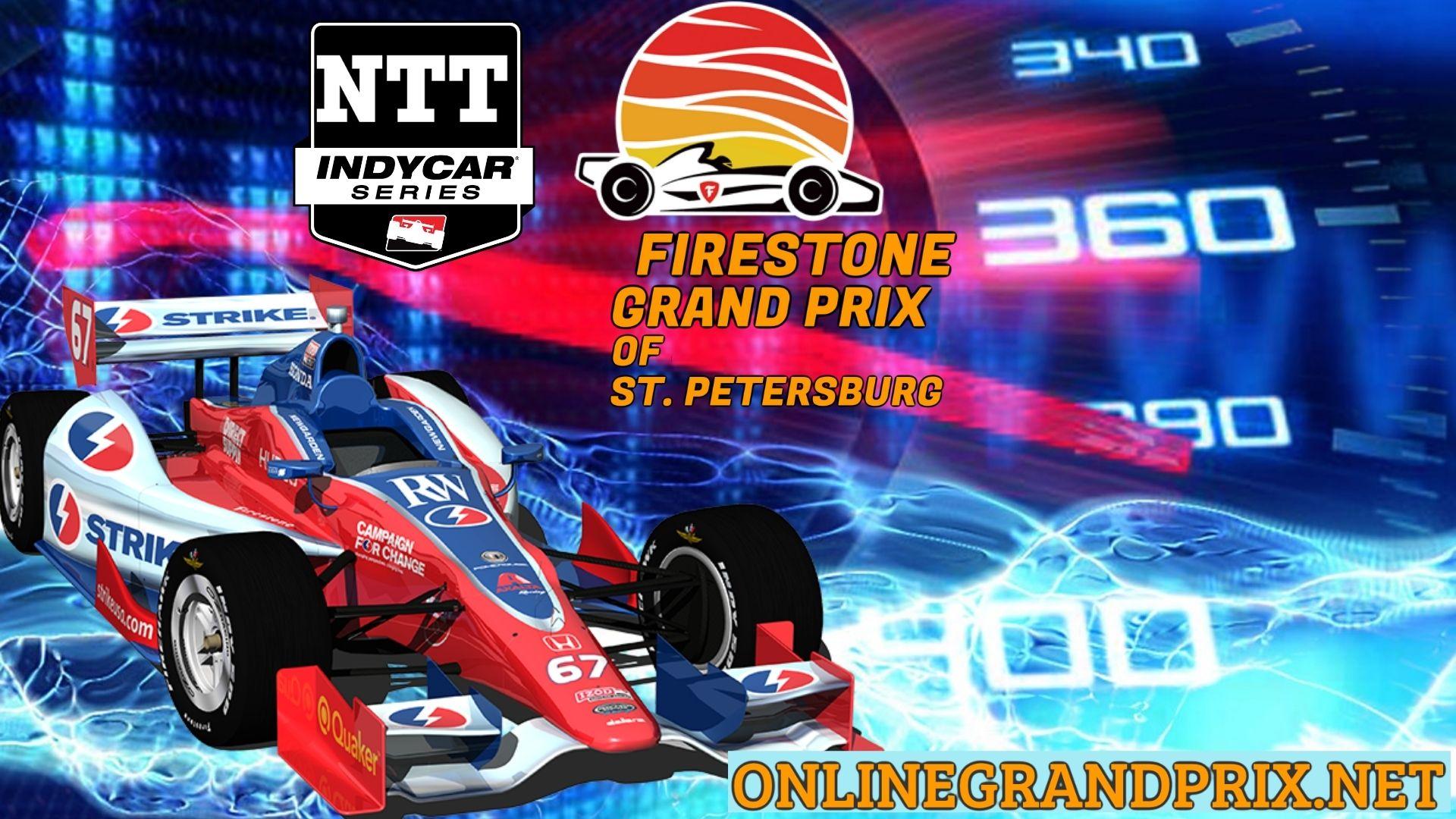 Firestone GP Of St. Petersburg Live Stream 2021   INDYCAR