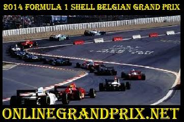 2014 Formula 1 Shell Belgian Grand Prix