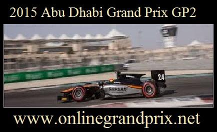 Abu Dhabi Grand Prix GP2