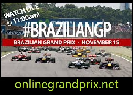 Brazilian Grand Prix 2015 Live Streaming
