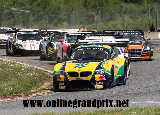 Round 2 Brands Hatch Race Blancpain GT Live On TV