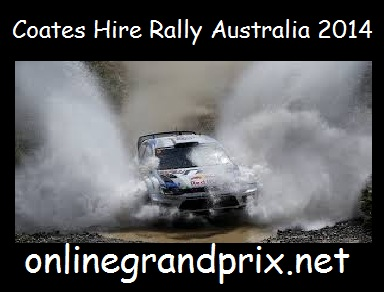 Coates Hire Rally Australia