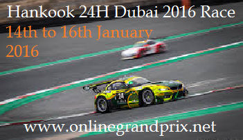 Watch Dubai 24 Hours Race Online