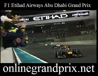 F1 Etihad Airways Abu Dhabi Grand Prix