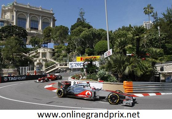 F1 Grand Prix De Monaco 2015