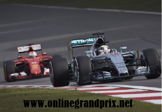 Watch F1 China Grand Prix 2016 Live Streaming