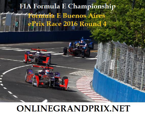 FIA FEC Buenos Aires ePrix live stream